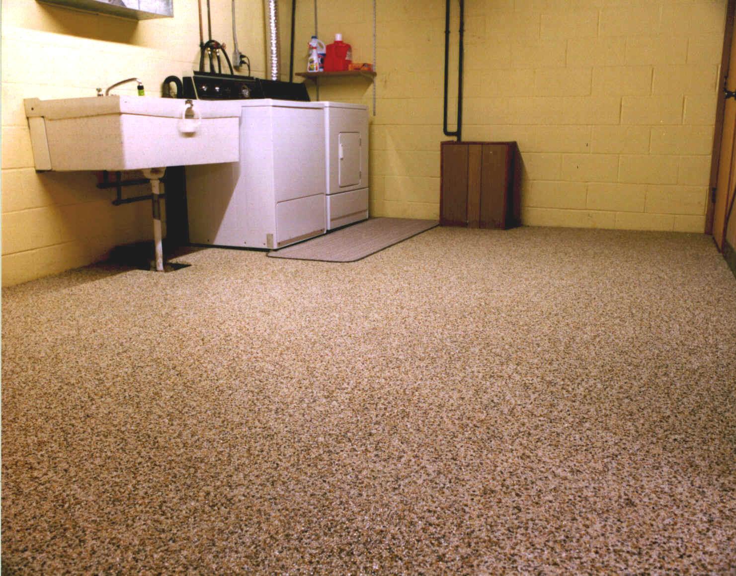 Epoxy flooring epoxy flooring for the basement for Basement flooring